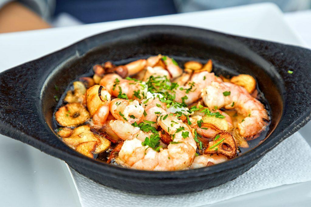 pan-of-garlic-prawns